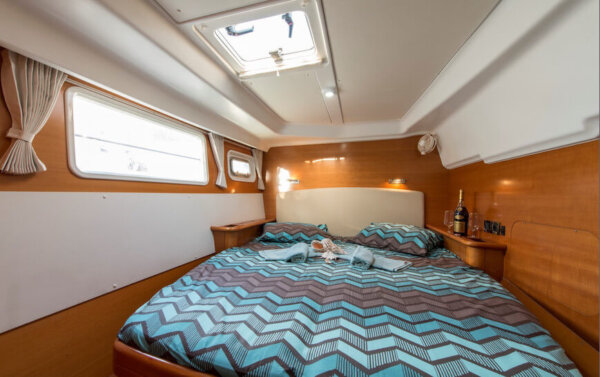 Lagoon44 cabin