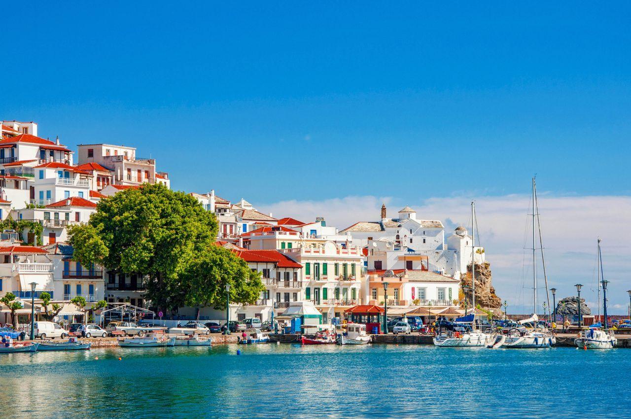 Skopelos yacht